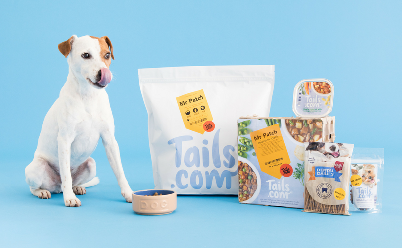 tails.com tailor-made dog food