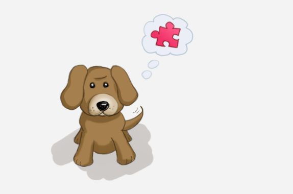 Puzzle Feeder Dog