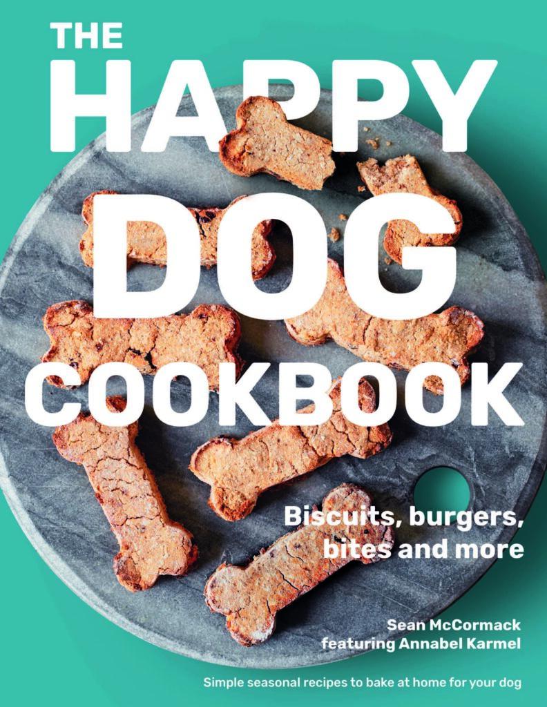 The Happy Dog Cookbook (written by Annabel Karmel & Sean the head vet)