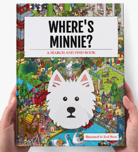 Yappy's search and find book